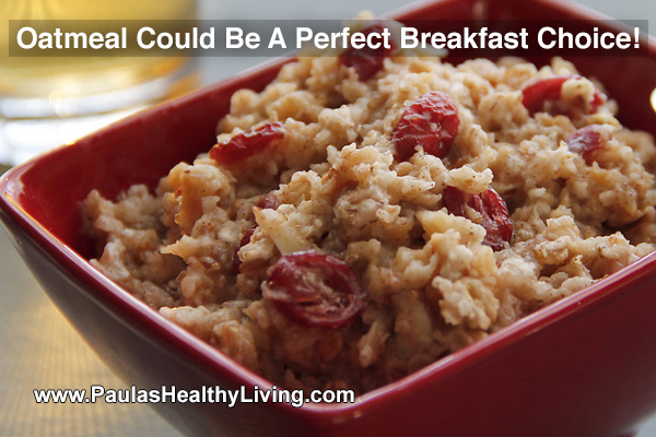 Paulas Healthy Living - oatmeal