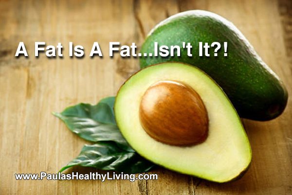 Paulas Healthy Living - Fat