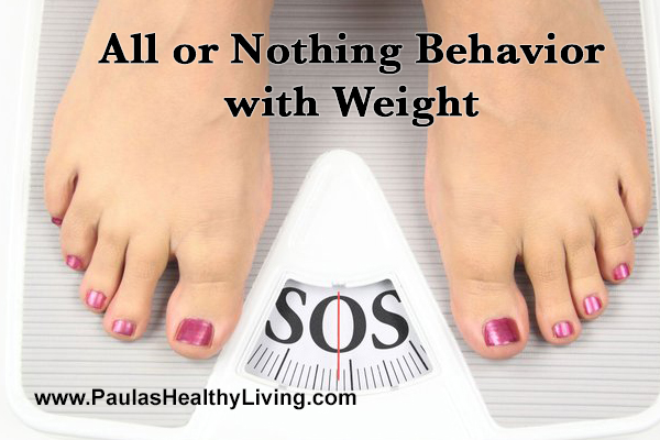 Paula Maier - All or Nothing Behavior with Weight